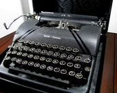 Sterling Typewriter Antique L.C. Smith & Corona 1945-49 Working, Free Shipping Anywhere, USA