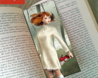 "Bookmark ""SCARPETTE ROSSE"" (The Red Shoes)"