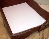 Leather Stationery Tray Made to Order
