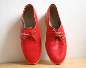 Shiny Red Shoes 7 / 7 1/2