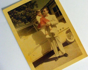 Daddy and daughter Vintage Photo