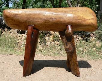Outdoor Bench - Reclaimed Pecan and Mesquite