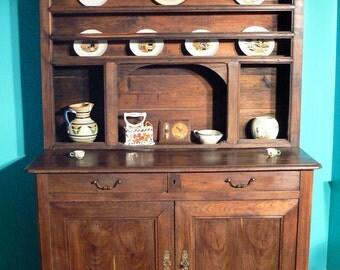 Antique French Cabinet - Circa 1920 - Chestnut