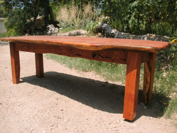 Items Similar To Hand Made Coffee Table With Reclaimed Mesquite Wood On Etsy