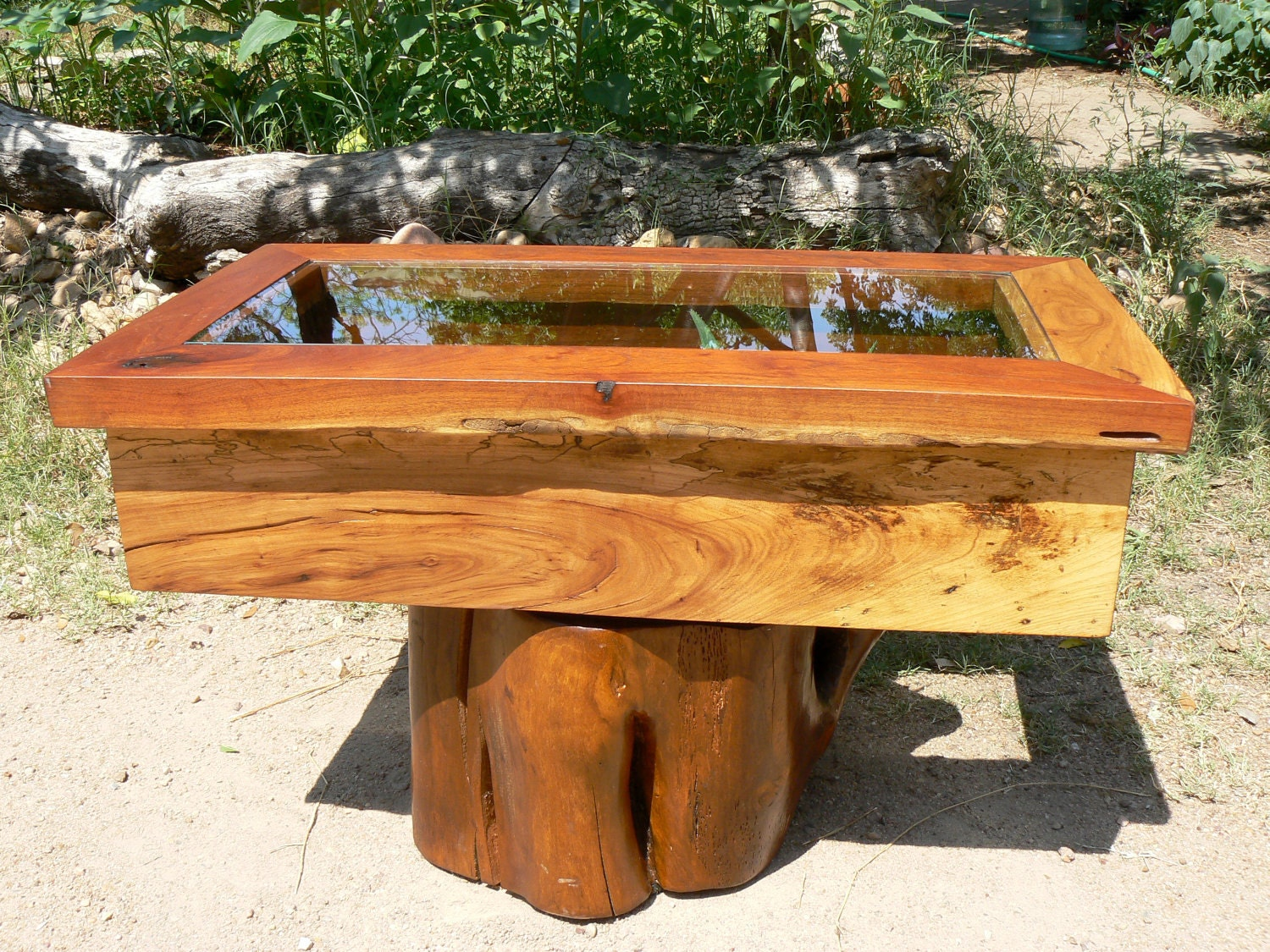 Coffee Table Reclaimed Mesquite And Hickory