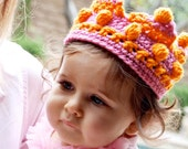 Custom Crochet Kid's Crown - 2 Colors