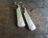 Upcycled Silver Spoon Earrings