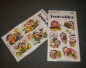 Funny Monkeys Vintage Scratch & Sniff Iron-ables
