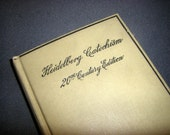 Heidelberg Catechism 20th Century Edition vintage book 1902