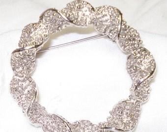 Vintage Emmons Silvertone Brooch