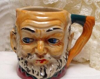 Toby Mug Pitcher Vintage Marked MK