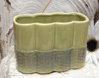 McCoy Chartreuse Green Planter