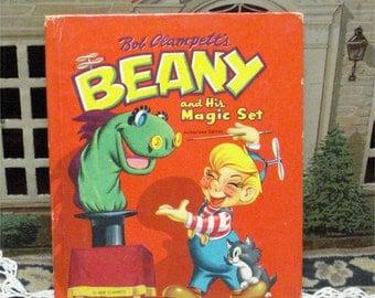 1953 Clampett Tell-A-Tale BEANY MAGIC Set BOOK
