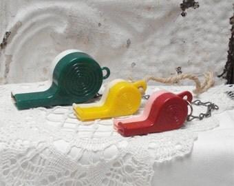Large Toy Whistle Set 3