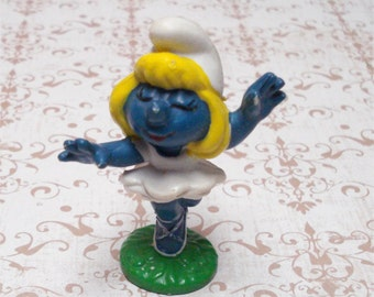 70s Ballerina Dancing Baby Smurf