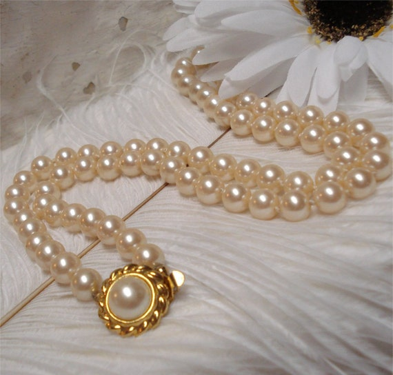 25 Talbots Pearl Necklace