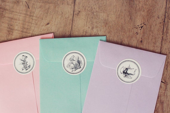 Alice in Wonderland Stickers: Last of current batch