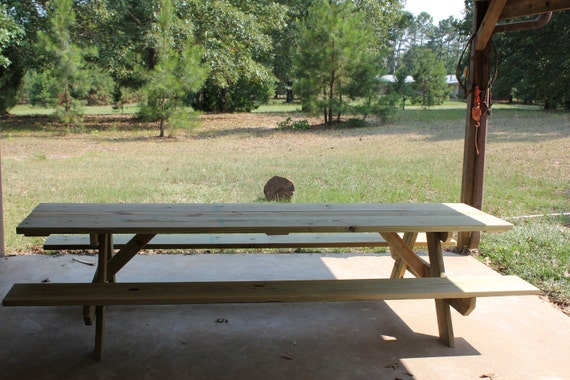 Items similar to new 10 foot picnic table on etsy for 10 ft picnic table