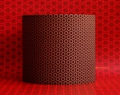 """Lampshade 10"""" drum lamp shade - READY TO SHIP - On Sale"""