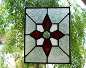 Handmade stained glass panel