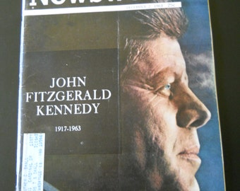 Vintage NEWSWEEK after President Kennedy's assassination