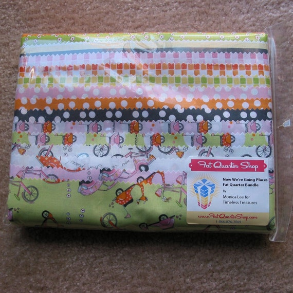 Now We're Going Places - 16 Fat Quarters - Monica Lee for Timeless Treasures