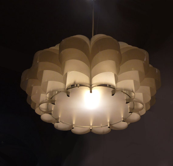 Daisy 24 (large)  - Plastic Bottle Ceiling lampshade