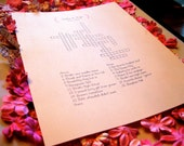 Custom Crossword Puzzle- Perfect for weddings, rehearsal dinners and showers
