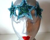 SALE - OOAK Three Star Glitter Crown - Mermaid