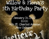 CUSTOM LISTING - Willow and Fiona's Birthday Party