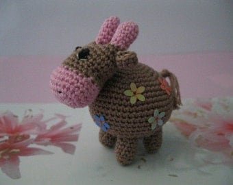 Small flower cow
