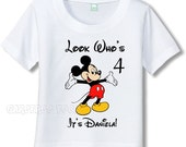 Disney Mickey Mouse T-Shirt Personalized - Open Arms