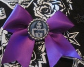 Purple Munsters Bow