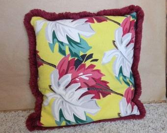 1940's 1950's original Hawaiian pillow