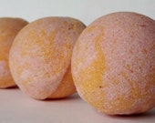 Peach Mango Bath Melts Fizzies Set of 4