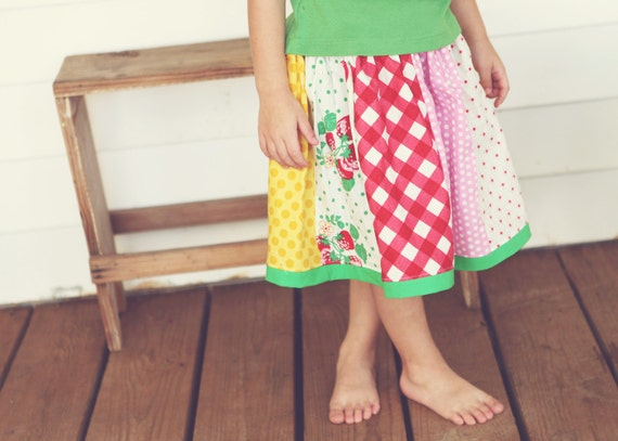 Strawberry Fields Strip Skirt Infant 12months-Girls 6 Limited Edition
