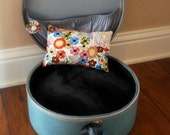 UpCycled Vintage Suitcase for Small Dog or Cat Bed