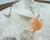 Blown Glass Bubble Necklace