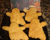 Pumpkin Carrot Ghosts HALLOWEEN Organic Dog Treats Pawtisserie