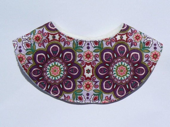Dribble Bib  & 2 other designs - pdf sewing pattern -easy to sew