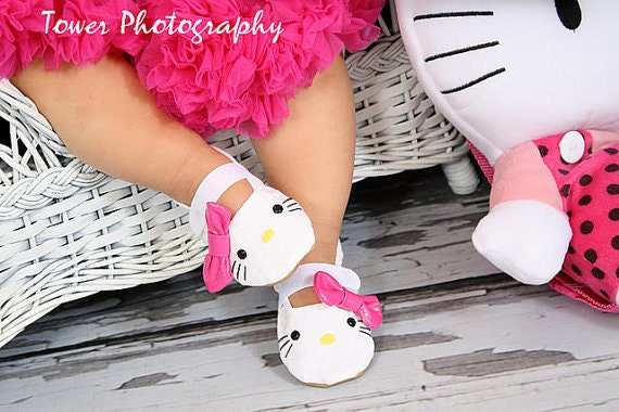 Ready to ship - Hello Kitty Inspired Shoes