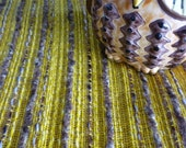 70's vintage banana yellow upholstery fabric - Only 2.5m left