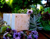 Greek Shaving Soap with Olive Oil, Lavender, Mint, Basil and Vitamin A 100% Natural