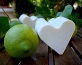 Greek Lemon Heart Soap with Olive Oil 100% Natural