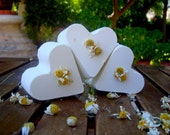 Greek Chamomile Heart Soap with Spa Water and Olive Oil 100% Natural