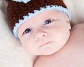 PDF Teddy Bear Hat Crochet Pattern
