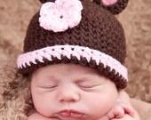 PDF Crochet Pattern Teddy Bear Hat