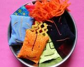 Blockheads Beanbags sewing pattern PDF