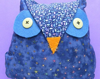 Owl Softie Pattern PDF