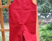 Custom order for ahuber - Dennis the Menace Halloween overalls